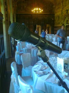 Wireless Microphone for wedding speeches