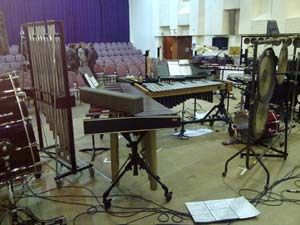 Live sound equipment hire for a Classical concert at Cardiff Music College