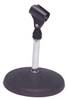 Table top microphone mic stand hire