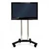 "50"" LED TV screen hire on trolley stand conference presentation"