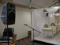 Asian wedding sound system hire advice for announcements