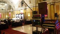Sound equipment system hire with engineer in cardiff