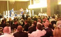 PA system hire for Boxing sports event at Holland House