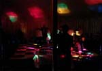 Disco Lighting and DJ Sound System hire near Cardiff